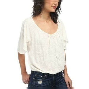 1445 Free People Ponce De Leon Butterfly Top S